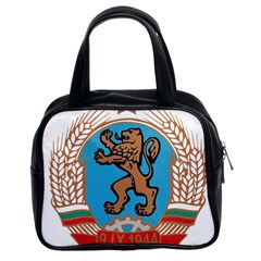 Coat Of Arms Of Bulgaria (1968 1971) Classic Handbags (2 Sides)