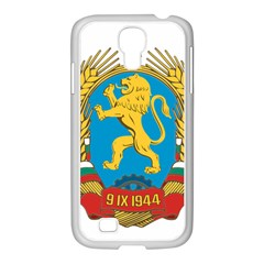 Coat Of Arms Of Bulgaria (1948 1968) Samsung Galaxy S4 I9500/ I9505 Case (white)