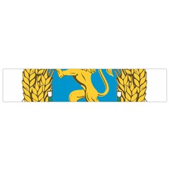 Coat Of Arms Of Bulgaria (1948 1968) Flano Scarf (small)