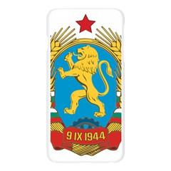 Coat of Arms of Bulgaria (1948-1968) Apple Seamless iPhone 6 Plus/6S Plus Case (Transparent)