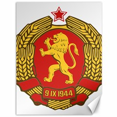 Coat Of Arms Of Bulgaria (1948) Canvas 36  X 48