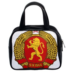 Coat Of Arms Of Bulgaria (1948) Classic Handbags (2 Sides)