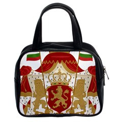 Coat Of Arms Of Bulgaria (1881 1927) Classic Handbags (2 Sides)