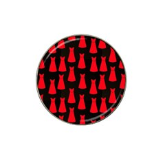 Dresses Seamless Pattern Hat Clip Ball Marker
