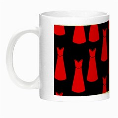 Dresses Seamless Pattern Night Luminous Mugs