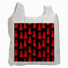Dresses Seamless Pattern Recycle Bag (One Side)