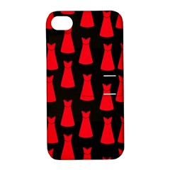 Dresses Seamless Pattern Apple iPhone 4/4S Hardshell Case with Stand