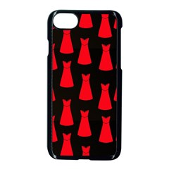 Dresses Seamless Pattern Apple Iphone 7 Seamless Case (black)