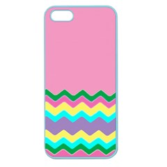 Easter Chevron Pattern Stripes Apple Seamless iPhone 5 Case (Color)