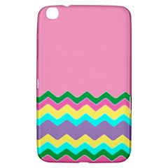 Easter Chevron Pattern Stripes Samsung Galaxy Tab 3 (8 ) T3100 Hardshell Case