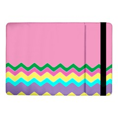 Easter Chevron Pattern Stripes Samsung Galaxy Tab Pro 10.1  Flip Case