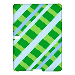 Fabric Cotton Geometric Diagonal Samsung Galaxy Tab S (10.5 ) Hardshell Case