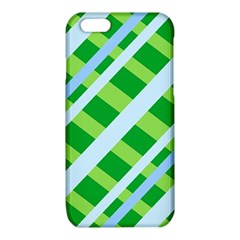 Fabric Cotton Geometric Diagonal iPhone 6/6S TPU Case