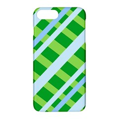 Fabric Cotton Geometric Diagonal Apple Iphone 7 Plus Hardshell Case