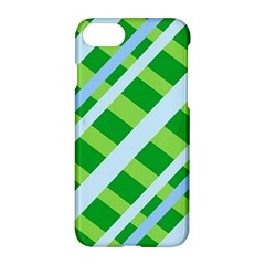 Fabric Cotton Geometric Diagonal Apple Iphone 7 Hardshell Case