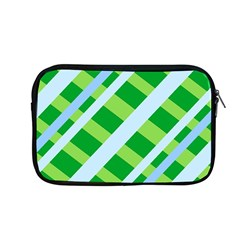 Fabric Cotton Geometric Diagonal Apple Macbook Pro 13  Zipper Case