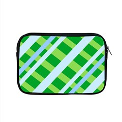 Fabric Cotton Geometric Diagonal Apple Macbook Pro 15  Zipper Case