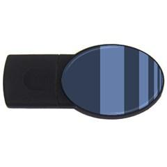 Fibonacci USB Flash Drive Oval (1 GB)