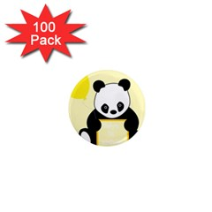 First Birthday Panda Card 1  Mini Magnets (100 pack)