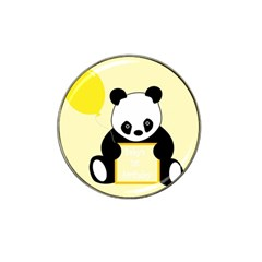 First Birthday Panda Card Hat Clip Ball Marker