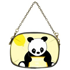 First Birthday Panda Card Chain Purses (two Sides)