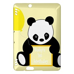 First Birthday Panda Card Kindle Fire HDX Hardshell Case