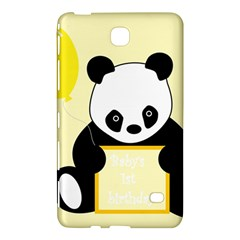 First Birthday Panda Card Samsung Galaxy Tab 4 (7 ) Hardshell Case
