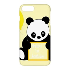 First Birthday Panda Card Apple Iphone 7 Plus Hardshell Case