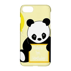 First Birthday Panda Card Apple Iphone 7 Hardshell Case