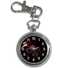Fractal Mathematics Abstract Key Chain Watches
