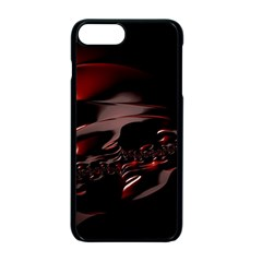 Fractal Mathematics Abstract Apple Iphone 7 Plus Seamless Case (black)