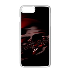 Fractal Mathematics Abstract Apple Iphone 7 Plus White Seamless Case