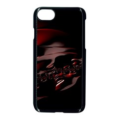 Fractal Mathematics Abstract Apple Iphone 7 Seamless Case (black)