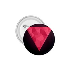 Geometric Triangle Pink 1.75  Buttons