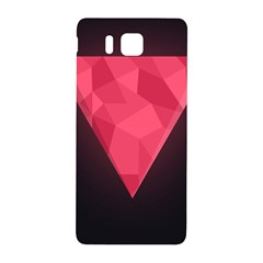 Geometric Triangle Pink Samsung Galaxy Alpha Hardshell Back Case