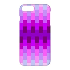 Geometric Cubes Pink Purple Blue Apple Iphone 7 Plus Hardshell Case