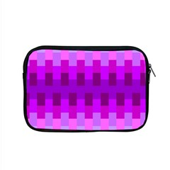 Geometric Cubes Pink Purple Blue Apple Macbook Pro 15  Zipper Case