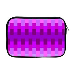 Geometric Cubes Pink Purple Blue Apple Macbook Pro 17  Zipper Case