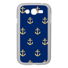 Gold Anchors Background Samsung Galaxy Grand DUOS I9082 Case (White)