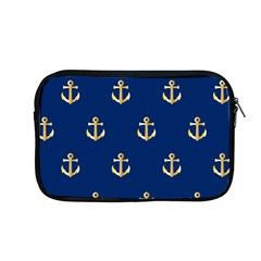 Gold Anchors Background Apple Macbook Pro 13  Zipper Case