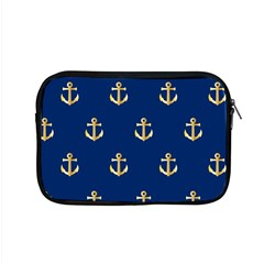 Gold Anchors Background Apple Macbook Pro 15  Zipper Case