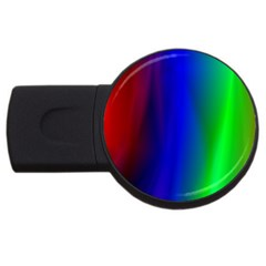 Graphics Gradient Colors Texture USB Flash Drive Round (1 GB)
