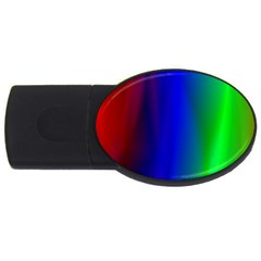 Graphics Gradient Colors Texture USB Flash Drive Oval (2 GB)