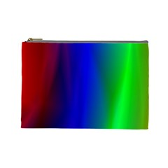 Graphics Gradient Colors Texture Cosmetic Bag (Large)