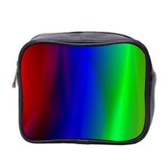 Graphics Gradient Colors Texture Mini Toiletries Bag 2-Side