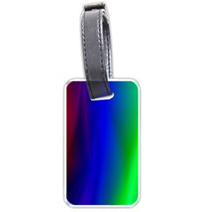 Graphics Gradient Colors Texture Luggage Tags (Two Sides)
