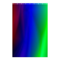 Graphics Gradient Colors Texture Shower Curtain 48  x 72  (Small)