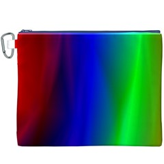 Graphics Gradient Colors Texture Canvas Cosmetic Bag (XXXL)
