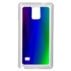 Graphics Gradient Colors Texture Samsung Galaxy Note 4 Case (White)