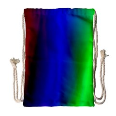 Graphics Gradient Colors Texture Drawstring Bag (Large)